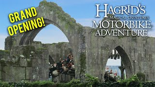 We Were One of the First in Line! | Grand Opening of Hagrid's Magical Creatures Motorbike Adventure!