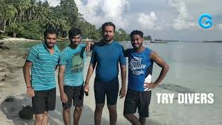 Discover scuba dive with Gypsy divers