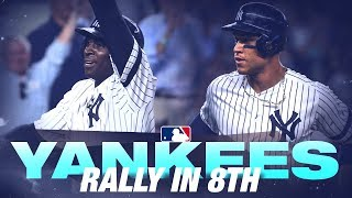 Yankees rally in the 8th against the Rays!