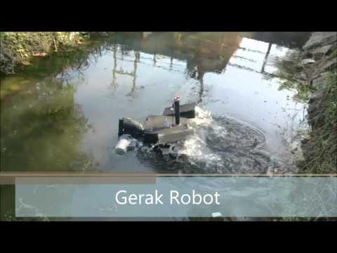 Rancang Bangun Robot Amphibi untuk Monitoring Pencemaran Limbah Cair pada Sungai Kawasan Industri