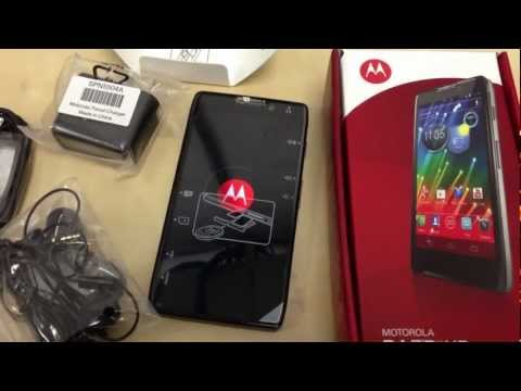 Motorola Razr HD LTE (XT925) - Unboxing (droid razr)