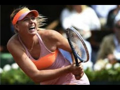 Maria Sharapova vs Eugenie Bouchard:  2014 French Open  (Roland Garros Highlights & Review)