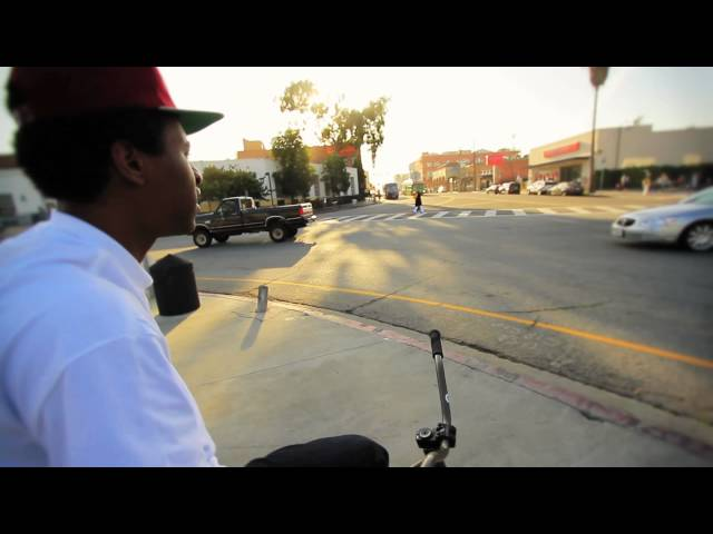 Jamil Gray Fixed Gear Tricks April 2012