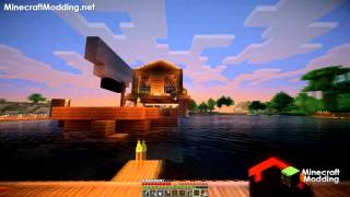 Sonic Ether's Unbelievable Shaders v10 on Minecraft 1.7.2 Gameplay GTX 660 (HD)(1080p)