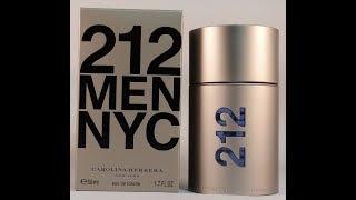 Carolina Herrera 212 Men NYC Review