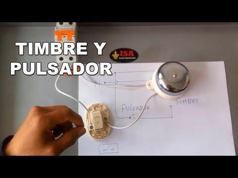 Cómo instalar un timbre con pulsador para casa o fábrica