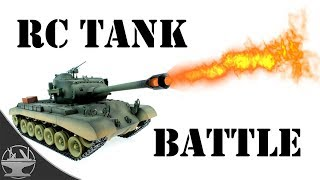 FLAMETHROWER TANK BATTLE (PRANK v PRANK)