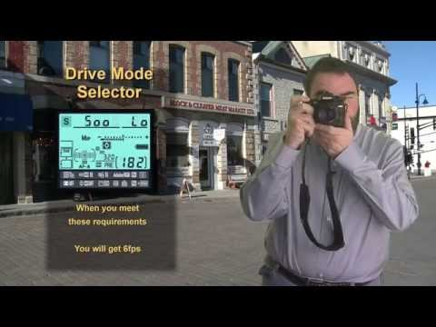 Nikon D7100 and D7000 Shooting modes Tutorial