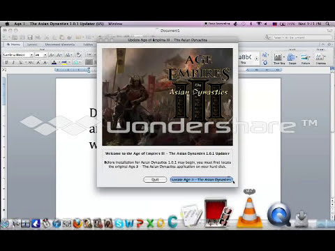 Age of Empires 3 Expansion Pack Mac + Avoid Disk Requirements