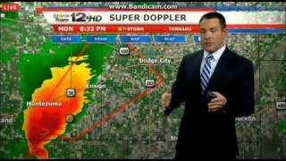 KWCH 12 News Tornado Coverage Part 1 (11/16/15)