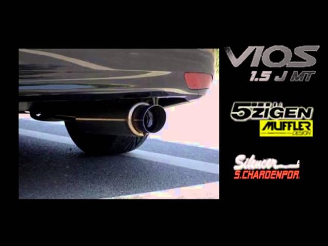 New Vios 5Zigen muffler Design&Silencer