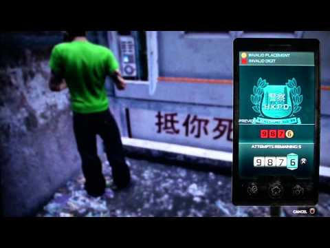 Sleeping Dogs - Hacking Security Camera video