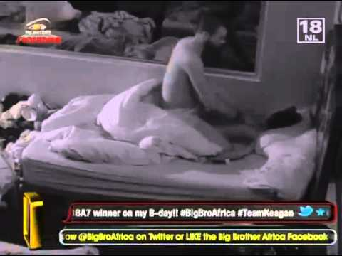 Keagan Massages And Kissing Talia (big Brother Africa 2012) video