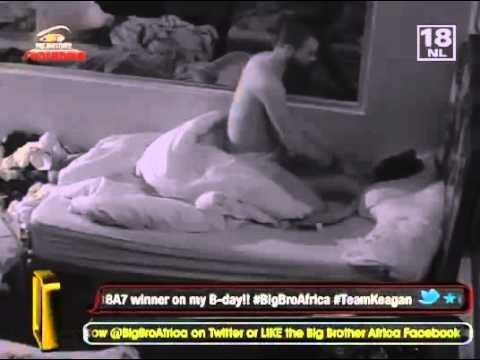 Keagan Massages ANd Kissing Talia (Big Brother AFrica 2012) thumbnail