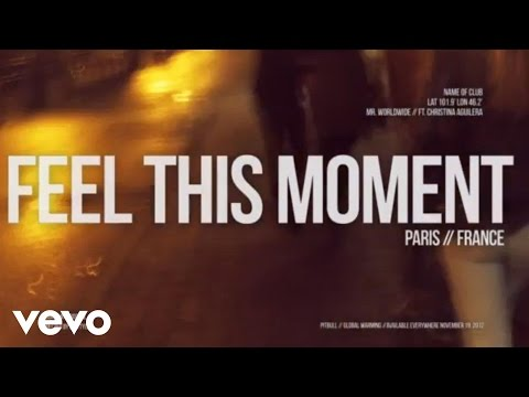 Feel This Moment (the Global Warming Listening Party) video