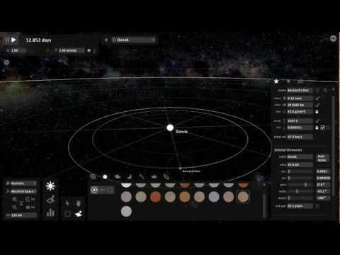 Universe Sandbox - Binary, Trinary, Quartenary Star Systems