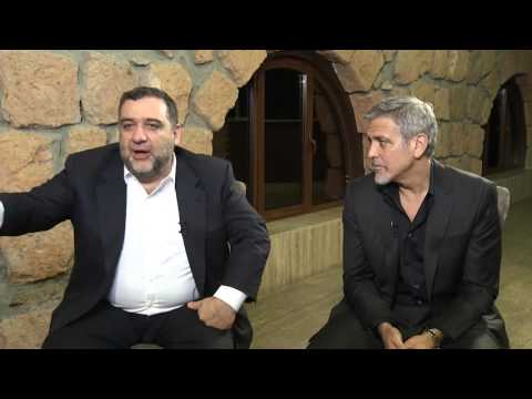 Banadzev. Artak Aleksanyan's interview with George Clooney and Ruben Vardanyan