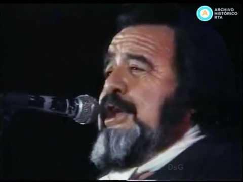 Horacio Guarany en vivo 1991 Presentacion completa en Cosquin por ATC