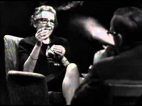 """Hannah Arendt """"Zur Person"""" Full Interview (with English subtitles)"""
