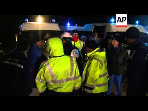 WRAP Workers protest at refineries ADDS Marseilles