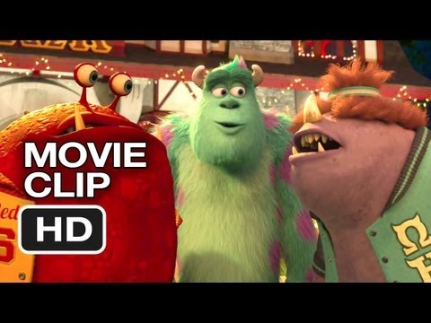 Monsters University Movie CLIP - ROR Material (2013) - Pixar Prequel HD