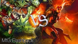 MtG Modern Flashback Episode 1 - Tribal Zoo VS Cruel Brew (PLUS GIVEAWAY!)