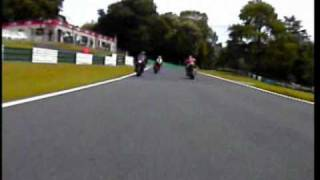 How to ride an XJR1300 In fast group at Cadwell Park.wmv