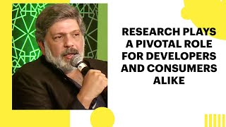 Research plays a pivotal role for