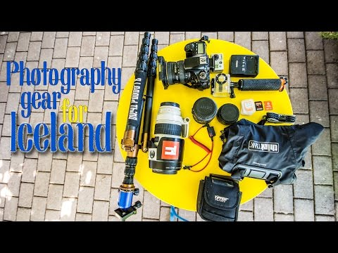 Photography Gear for Iceland