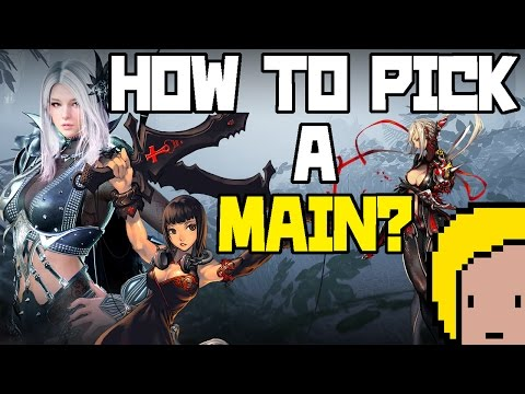 HOW TO CHOOSE A MAIN CLASS!