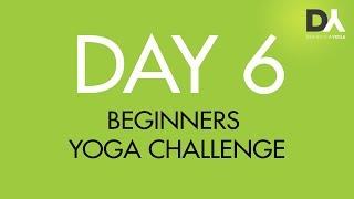 Йога челлендж для начинающих -День 6