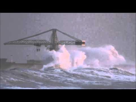 Tempestade no Mar - Le�a da Palmeira 04/01/2014