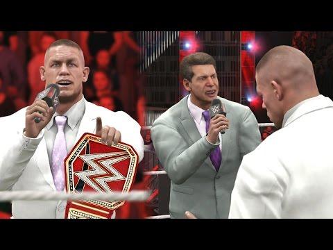 WWE 2K17 Story - John Cena Passes Flairs Record? - Ep.3