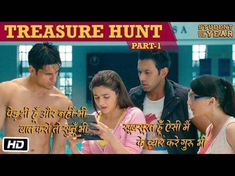 The Treasure Hunt: Part 1 - Student Of The Year - Sidharth Malhotra, Alia Bhatt & Varun Dhawan
