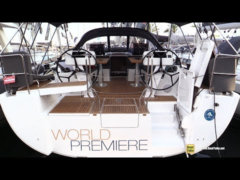 2019 Hanse 508 Sailing Yacht - Deck and Interior Walkaround - Debut at 2018 Cannes Yachting Festival