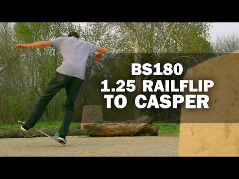 BS180 1.25 Railflip to Casper: Mike Osterman || ShortSided