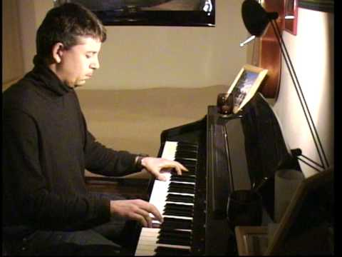 Gabriellas Song - (wie Im Himmel) Klavier   Piano video