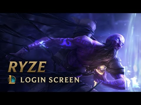 Ryze, The Rune Mage | League Of Legends - Login Screen