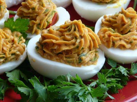 Закуска из яиц -  простая и вкусная!!! Что приготовить быстро и вкусно!Новогодний стол 2018