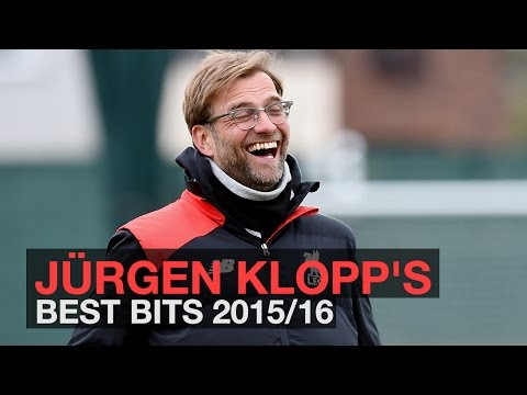 Jürgen Klopp's best bits 2015/16