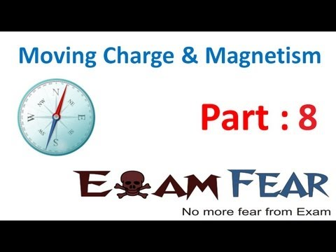 Physics Moving Charge & Magnetism Part 8 (numericals) Cbse Class 12 video