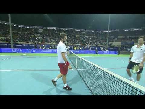 Chennai 2014 Final Highlights Wawrinka vs. Roger-Vasselin