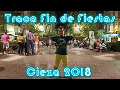 Traca Fin de Fiestas Cieza 2018 - San Fermines de Petardos y Cohetes