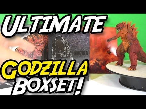 S.H.MonsterArts GODZILLA [2014] Poster Image Ver. Unboxing & Review