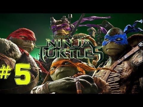 Teenage Mutant Ninja Turtles: Movie Game Part 5 Back to the Sewer!