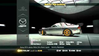 NFS Shift 2 Unleashed - Legends & SPEEDHUNTERS Pack DLC Full Car List