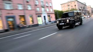 Mercedes-Benz G63 AMG Moscow 2016