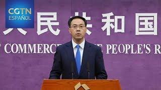 China declara estar listo para responder si Trump arremete con nuevos aranceles