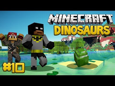 Minecraft Dinosaurs Mod (Fossils and Archaeology) Survival Series. Episode 10 - Mosasauros Fail...