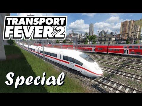 Transport Fever 2 S6/#135: Unsere Anlage, mit Hybrid-Rundfahrt [Lets Play][Deutsch]
